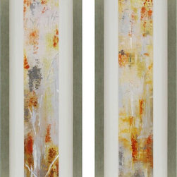 Paragon Decor - Heart of Gold Set of 2 Artwork - Exclusive Giclee