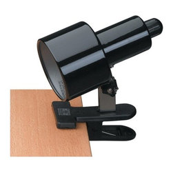 Lite Source - Lite Source LSF-112 Clip-On 1 Light Clamp-On Lamp - Features: