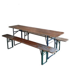Eclectic Outdoor Dining Tables by Terrain