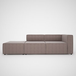 Modern and Contemporary Chaise Lounges & Daybeds - Incredibly unique,  originally retails at $2,700. Made to exacting specs. Modern day bed produced in our factory at an unbeatable price!