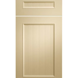 Amesbury Thermofoil Cabinet Door - The Amesbury Thermofoil Cabinet Door is more of the traditional look. Here at Metropolitan our design team can design any type of style. We will work hand and hand with each of our customers to ensure ultimate satisfaction.