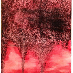 Crimson Storm (Original) by G. Matthew Dixon - With abstracts, sometimes the paint just speaks for itself. The artist is merely an interpreter to the emotion coursing through them. The results are often surprising but still cathartic. This is one of those pieces...