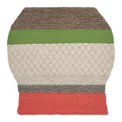 Gandia Blasco - Patricia Urquiola - MF2 Farol Wool Rug - Gandia Blasco - All of the modern rugs by Gandia Blasco are Goodweave certified and the perfect addition to any room in your home. Yarn composition: 100% New Wool. Hand loomed. Designed by Patricia Urquiola.