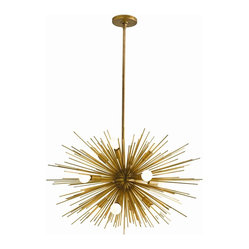 Zanadoo Chandelier, Brass, Small