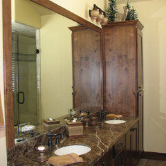 traditional bathroom by D&amp;M Designs