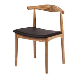 Fine Mod Imports - Hansen Natural Dining Chair - Features: