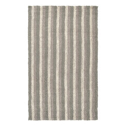 """Surya - Hand Woven Country Jutes Rug CTJ-2020 - 2'6"""" x 4' - Another inspired ensemble from Country Living, the Country Jutes Collection exemplifies the essence of casual style. Hand-woven from all natural jute in monochromatic shades of beige, each rug combines fibers to create a variety of patterns that exude a simple elegance ideal for traditional to transitional interiors."""