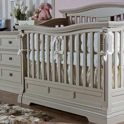 IMPERIO Collection - Imperio baby setting in vintage grey finish.