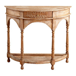 Cyan Design - Amity Console Table - Amity console table in old teak.