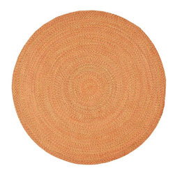 Safavieh - Braided Braided Round 6' Round Multi Color Area Rug - The Braided area rug Collection offers an affordable assortment of Braided stylings. Braided features a blend of natural Multi Color color. Handmade of Polypropylene the Braided Collection is an intriguing compliment to any decor.