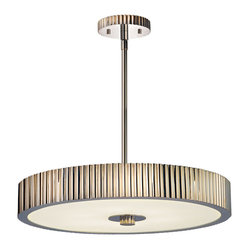 Sonneman 4623.35 Paramount Polished Nickel Pendant