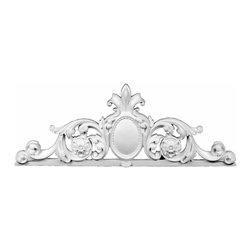 """Renovators Supply - Door Pediments Primed Urethane Door Pediment 13-3/4"""""""" x 37"""""""" 