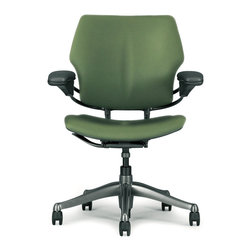 Humanscale - Freedom Task Chair without Headrest by Humanscale in Verdant Lotus - Freedom Task Chair without Headrest by Humanscale