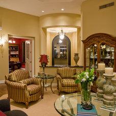 Traditional Living Room by Lili Fleming-Nieri, ASID