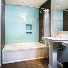 Contemporary Bathroom by AV Architects + Builders