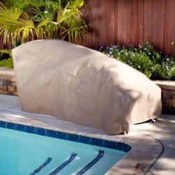 Duck Covers Patio Chaise Lounge Cover with Optional Rechargeable Inflator - About Duck Covers Designed to help you repel the elements and retain the beauty Duck Covers use an innovative inflation design that keeps furniture clean and looking good as new. Combined with Duck Covers' secure tie down covers it's the best way to maximize the life of your patio furniture. Simply place the Duck Dome into the low points of your furniture like the chair seat or on top of your patio table secure with the nylon tie-down straps and put the cover over everything. This inflatable creates an elevated dome-shape under the cover so water and debris simply fall away rather than pooling up. The dome also offers better airflow between the furniture and the cover reducing the chances of mold and mildew build-up. The Duck Dome inflates in less than 90 seconds with an inflator. About Flexible Storage GroupHelping you make the most of your space Flexible Storage Group manufactures innovative products designed to extend storage solutions beyond the traditional options. They do this through cutting edge products like Ball Hog Duck Covers and RackZilla. Flexible Storage Group's products are designed to help you organized and protect your valuable property.