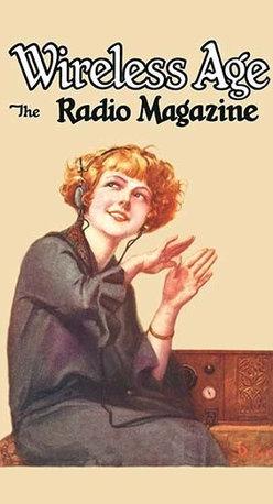 "Buyenlarge.com, Inc. - Wireless Age: The Radio Magazine - Canvas Poster 20"" x 30"" - Radio, TV. Wireless, Telegraph, Television"