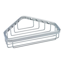 Delta Stainless Steel Small Corner Caddy - 47000-ST - Style meets performance with Delta commercial products that not only provide long life, but also enhance their environments. From the beginning, Delta has sought out innovative solutions to help people use water in better ways.