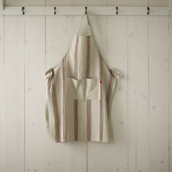 Cotton Apron, Bistro Stripe - Trade in your simple apron for this cotton style with stripes that are so chic you'll want to cook just about every day.