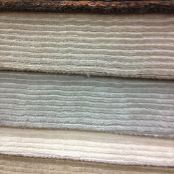 Showroom Products - Antrim solution dyed polyester carpet with horizontal linear pattern.  Introduced at Surfaces 2013 in Las Vegas.
