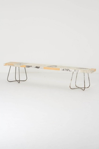 contemporary benches by Anthropologie