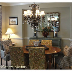 traditional dining room by DecRenew Interiors