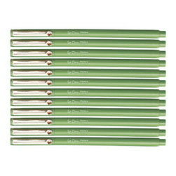Le Pen, Lime Green - Who doesn't love matching sleek barrel pens? These little guys make writing more fun, and they look great stacked in a mint julep cup.