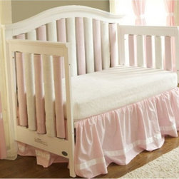 Go Mama Go Designs - Go Mama Go Designs Wonder Bumpers Pink & Cream 38 Pack - 718122807673 - Shop for Bedding Sets from Hayneedle.com! About Go Mama Go Designs Wonder Bumpers Pink & Cream 38 PackScientifically proven to be safe Wonder Bumpers offer padded protection on the crib's hard rails without the risk of suffocation or entanglement. Compared to standard bumpers which have proven to be a suffocation risk Wonder Bumpers offer increased airflow and reduce CO2 re-breathing. The protect baby's head and body and inhibit toddlers from climbing out of their cribs. They also keep limps safely inside. Wonder Bumpers have a sleek vertical design that effortlessly zips onto your crib rails in a downward motion ensuring babies don't have access to the pull. With no ties to worry about they're easy to use and easy to wash.