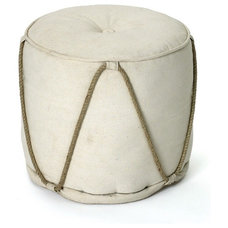 Contemporary Ottomans And Cubes by The Inglenook Decor