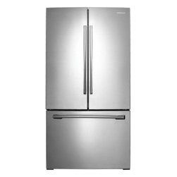 """Samsung - RF260BEAESR 36"""" 26 cu. ft. French Door Refrigerator with Twin Cooling Plus Syste - The Samsung Appliance RF260BEAE 26 Cu Ft French Door with Filtered Ice Maker refrigerator in stainless steel offers capacity and the ultimate in food preservation with Twin Cooling technology Our Twin Cooling Plus System separates airflow between the..."""