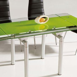 Aquila Expandable Modern Dining Table -