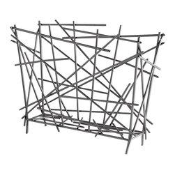 Cyan Design - Pick Up Sticks Magazine Holder - Pick up sticks magazine holder - graphite