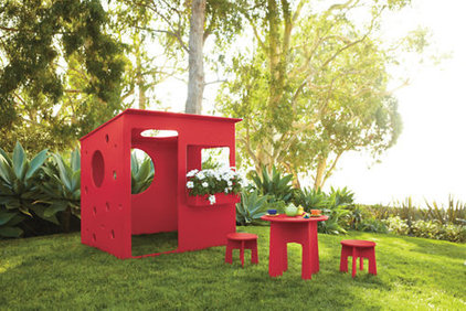 Contemporary Outdoor Playhouses by Room & Board