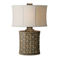 Uttermost - Uttermost 26445-1 Cestino 1 Light Table Lamp - Features: