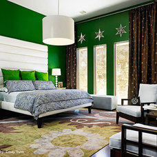 Modern Bedroom by Laura Britt Design