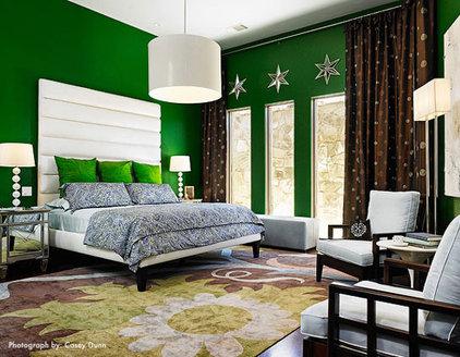 Modern Bedroom by Laura Britt Design