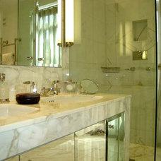Traditional Bathroom by Adrienne Chinn Design