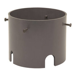 Kichler - Kichler HID High Intensity Discharge Outdoor Lighting Fixture Mount in Bronze - Shown in picture: Accessory Well Lt Pour Kit in Architectural Bronze
