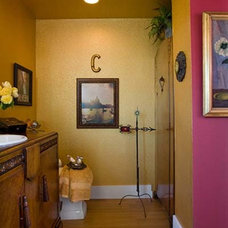 Traditional Bathroom by Charmaine Manley Design