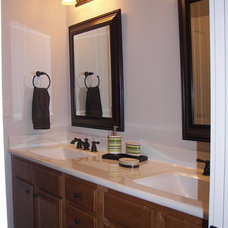 Traditional Bathroom by Rachael Williams Design
