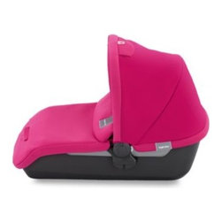 Inglesina - Inglesina Avio Bassinet in Fuschia - The Inglesina Avio Bassinet is the perfect accessory to the Inglesina Avio Stroller (sold separately). This top-carry bassinet with a double-faced mattress weighs only 8.6 pounds.