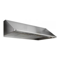 """Dacor - Renaissance EHR3612SCH 36"""" Wall Mount Range Hood with Multiple Exterior/In-Line - The EHR12SCH wall mount range hood has an electronic control panel giving this range hood a modern look The removable mesh filters are dishwasher safe making them easy to clean The blower can be adjusted to 4 different speed providing enough ventilat..."""