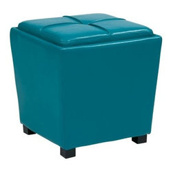 OSP Designs Metro 2 pc. Vinyl Storage Ottoman Set - You'll quickly fall in love with the beauty and practical OSP Designs Metro 2 pc. Vinyl Storage Ottoman Set. Crafted from vinyl with vinyl feet, this sturdy ottoman is not only easy to clean, but also adds a modern touch to your decor. Flip the top over to reveal a tray that's perfect for holding drinks while inside the ottoman is another ottoman cube. Fun and functional, this ottoman is available in your choice of colors.About Office Star ProductsOffice Star Products is engaged in the fabrication, importation, and distribution of an extensive range of quality office seating and home furnishing products. Since 1979, the company has developed a distinguished reputation for high quality, value, and outstanding customer service. With a wide variety of product lines, Office Star Products sells furnishings in the largest retail and wholesale chains and through hundreds of regional independent home furnishings dealers.