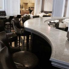 Traditional Kitchen Countertops by La Bastille