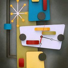 Modern Clocks by Steve Cambronne