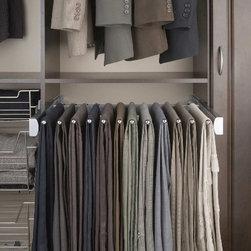 Closet Accessories - Sliding pants hanger
