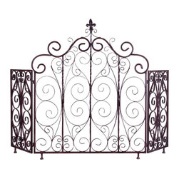 IMAX CORPORATION - Orleans Fireplace Screen - Orleans Fireplace Screen. Find home furnishings, decor, and accessories from Posh Urban Furnishings. Beautiful, stylish furniture and decor that will brighten your home instantly. Shop modern, traditional, vintage, and world designs.