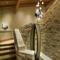 Eclectic Staircase by Schippmann Design