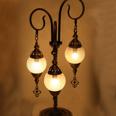 Turkish Style Authentic Ottoman Floor Lamp -