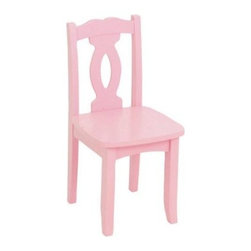 KidKraft Brighton Chair - Pink - What We Like About This Kids ChairCrafted from solid wood our Brighton chair is a high-quality addition to every child's room. Available in a variety of colors with gently curved legs and a Chippendale-inspired back this chair is both sturdy and stylish.About KidKraftKidKraft is a leading creator manufacturer and distributor of children's furniture toy gift and room accessory items. KidKraft's headquarters in Dallas Texas serve as the nerve center for the company's design operations and distribution networks. With the company mission emphasizing quality design dependability and competitive pricing KidKraft has consistently experienced double-digit growth. It's a name parents can trust for high-quality safe innovative children's toys and furniture.